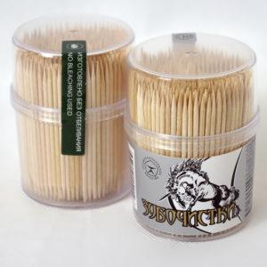 Производство зубочисток, палочек для шашлыка, размешивателей и зубочисток в диспенцере